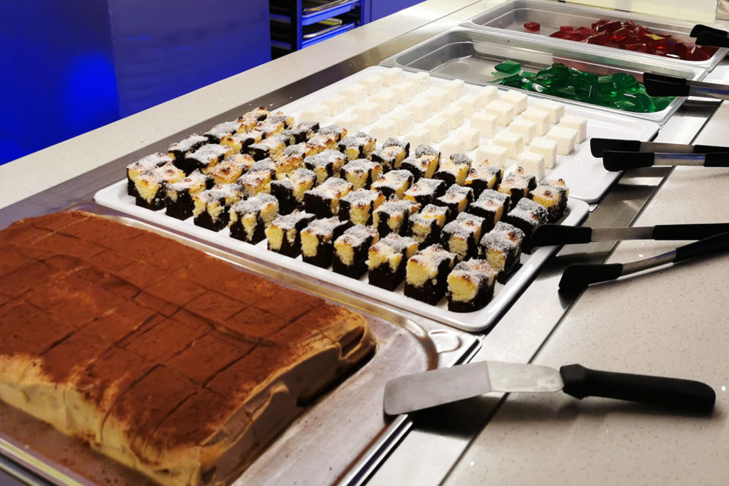 Gourmet Palast Hof Desserts