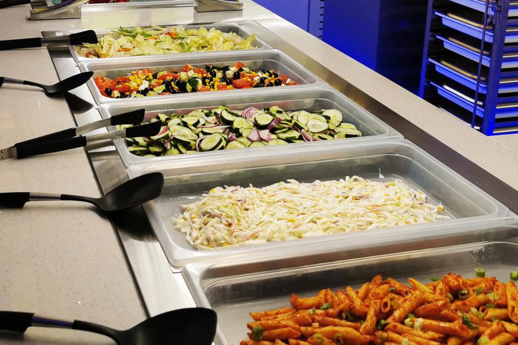 Gourmet Palast Hof Salate
