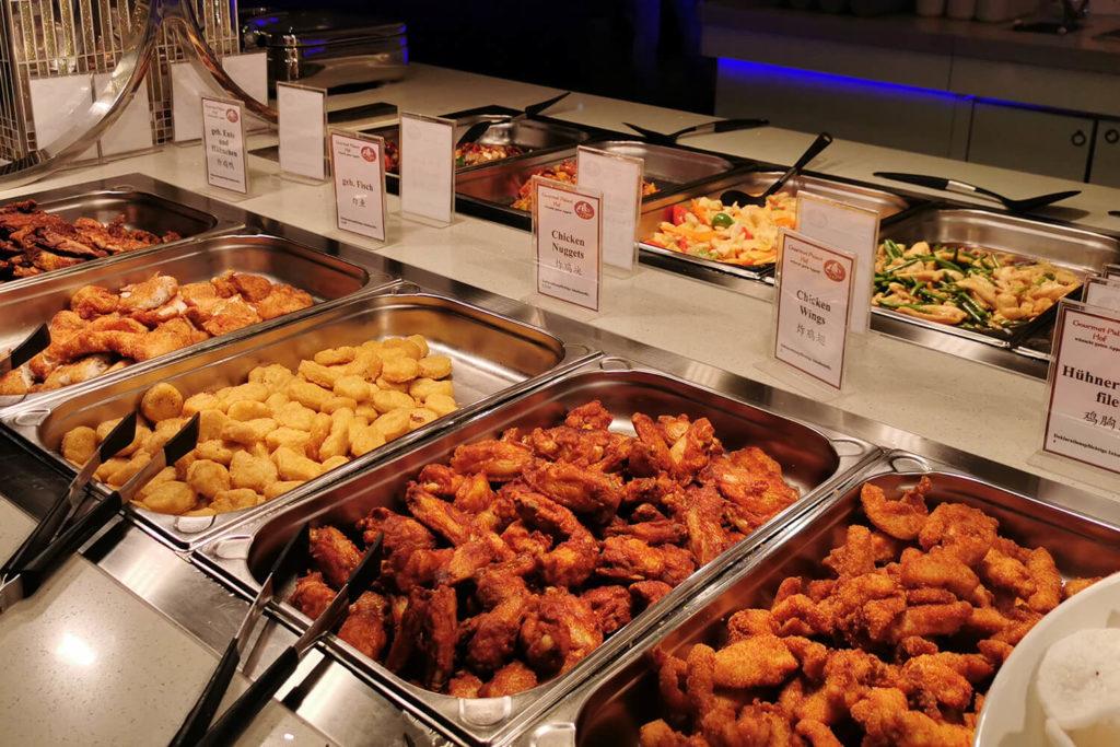 Gourmet Palast Hof Warmes Buffet